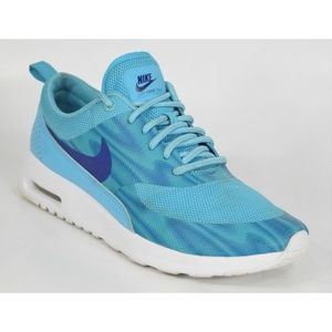 Nike Air Max Thea Print Women's Blue Running Shoes